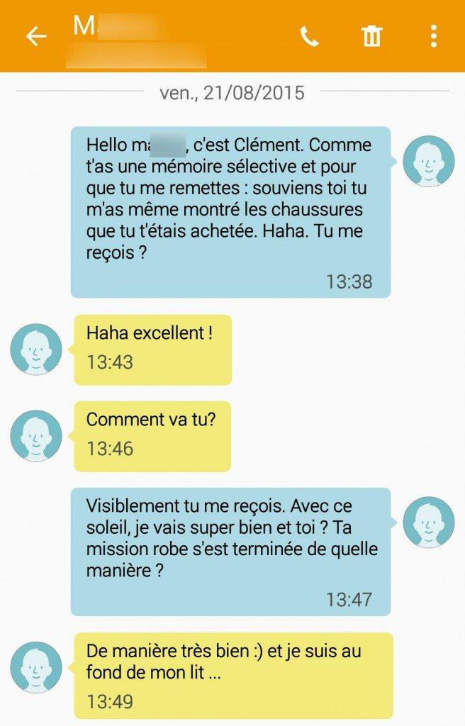 SMS - Mémoire