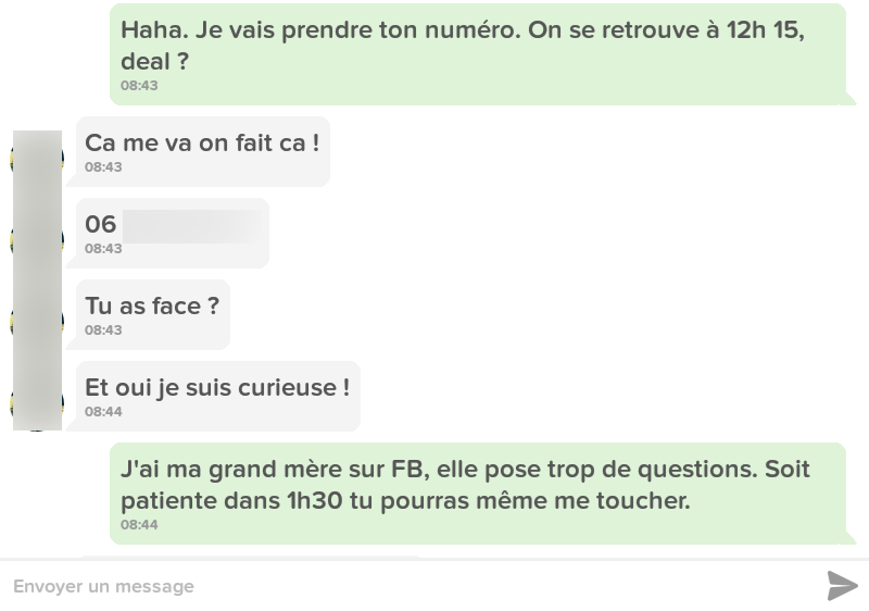 SMS Game - curieuse