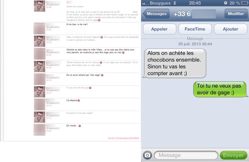 SMS Game - De l'audace