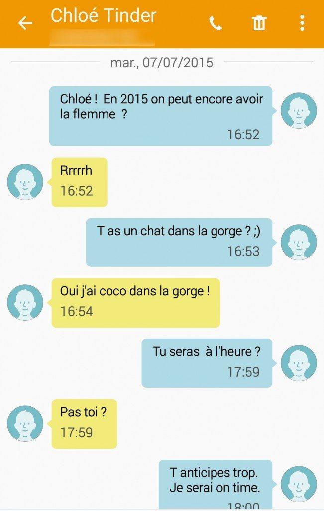 SMS - flemme