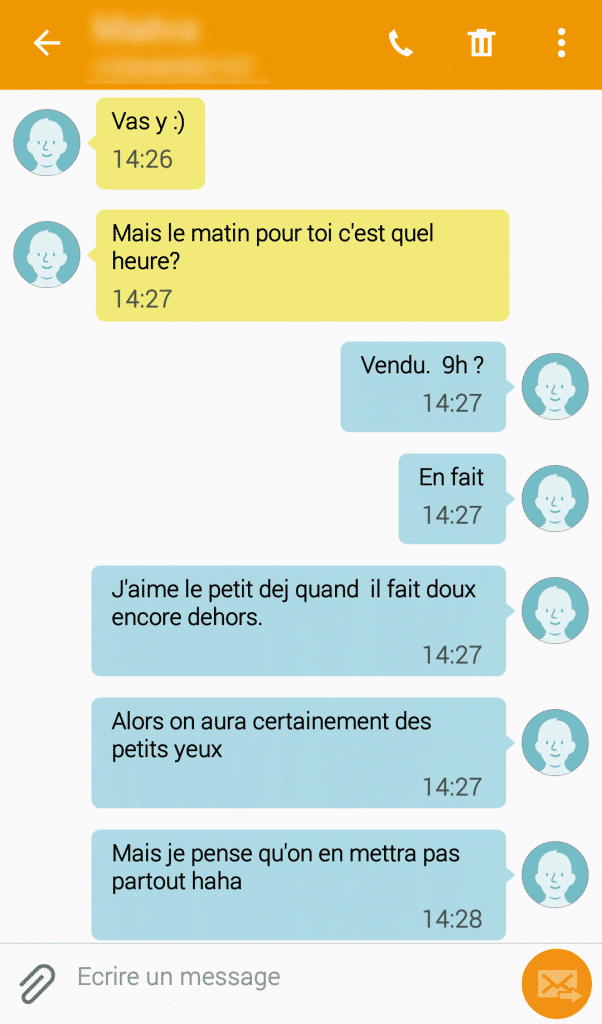 Comment aborder une fille par message