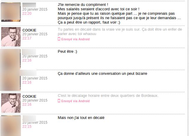 compliment - décalé