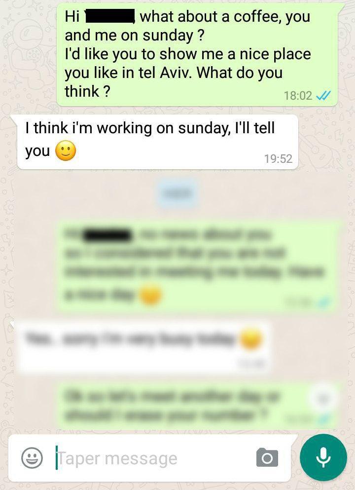 Draguer par sms sans commettre d'erreur