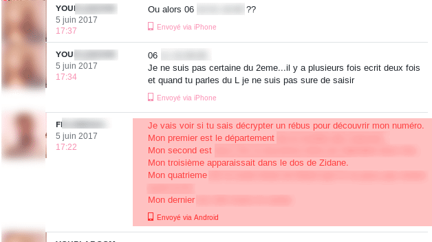 sujet de conversation drague internet