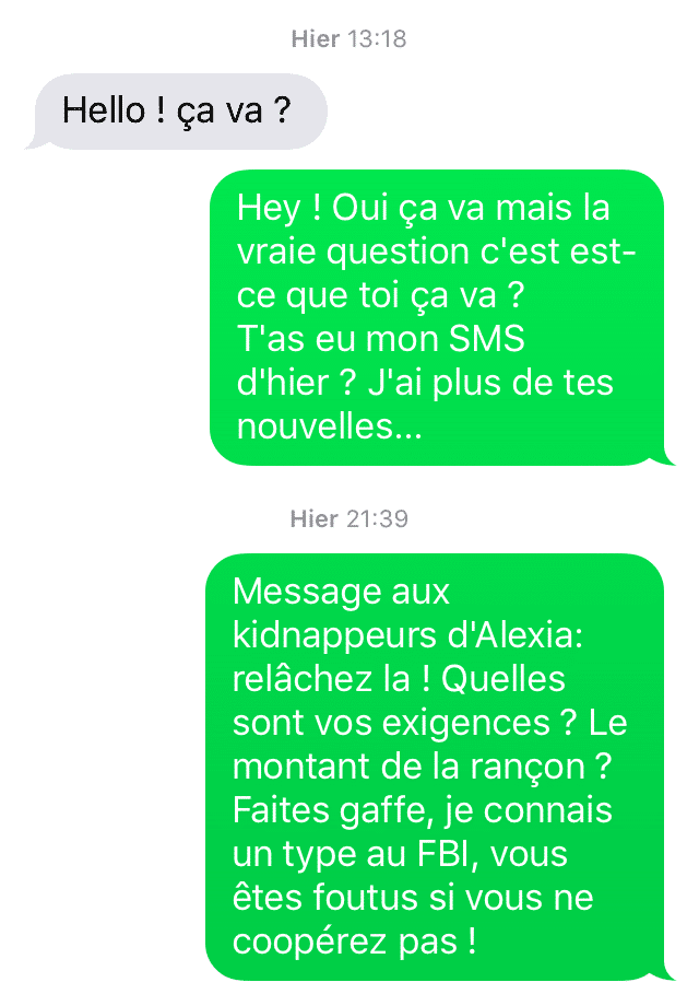 conseil drague sms
