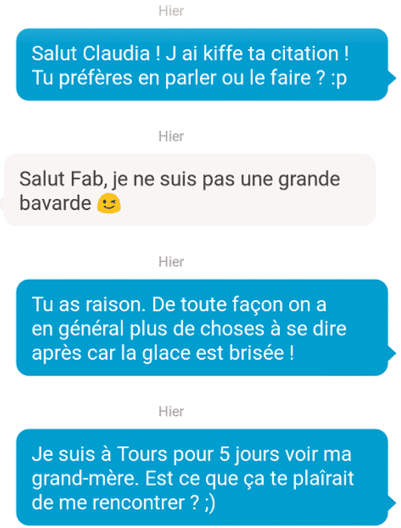 technique drague happn