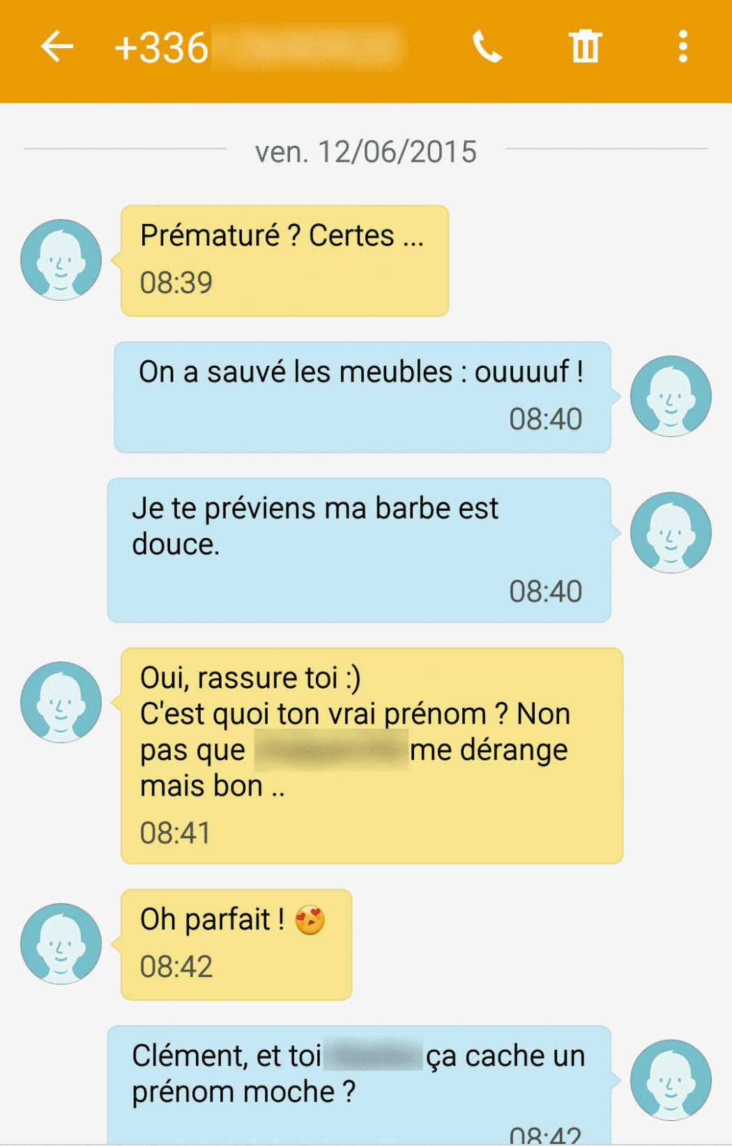 drague sms pour proposer un plan cul