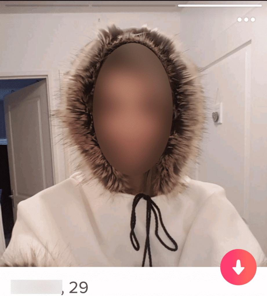 profil tinder fille
