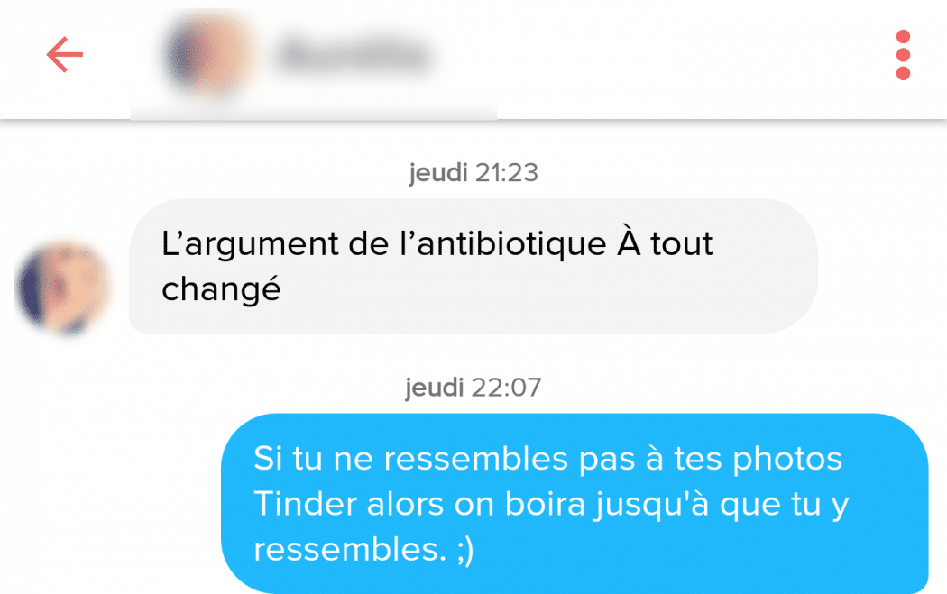 grands messages de profil de rencontre