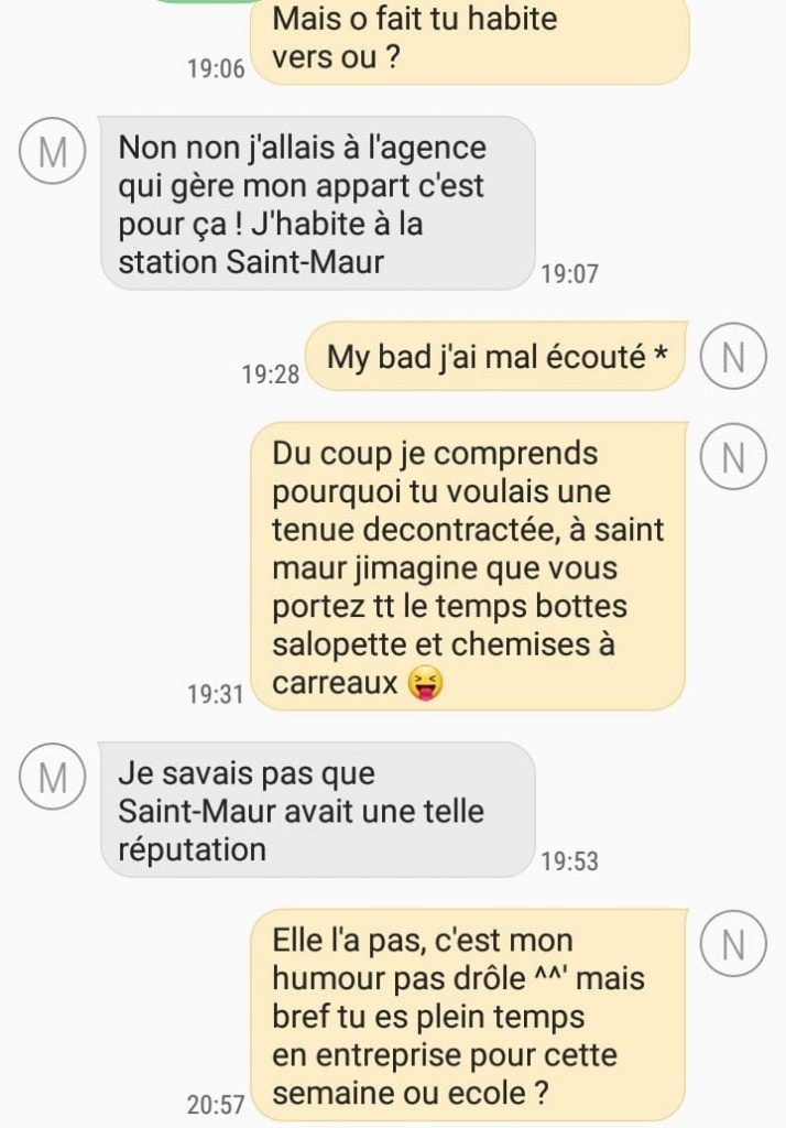 décoder les sms d'une femme