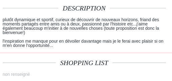 description site de rencontre   2 exemples qui attirent
