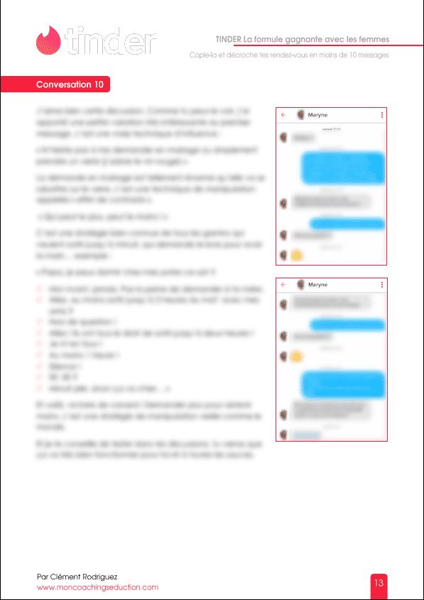 extrait ebook Tinder