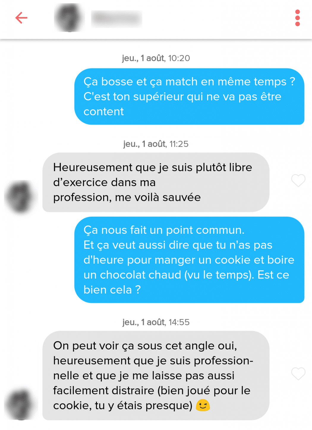 question à poser à une fille sur Tinder