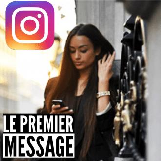 le premier message instagram