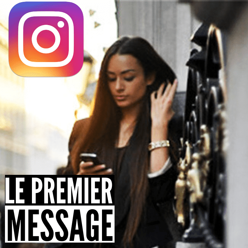 le premier message instagram