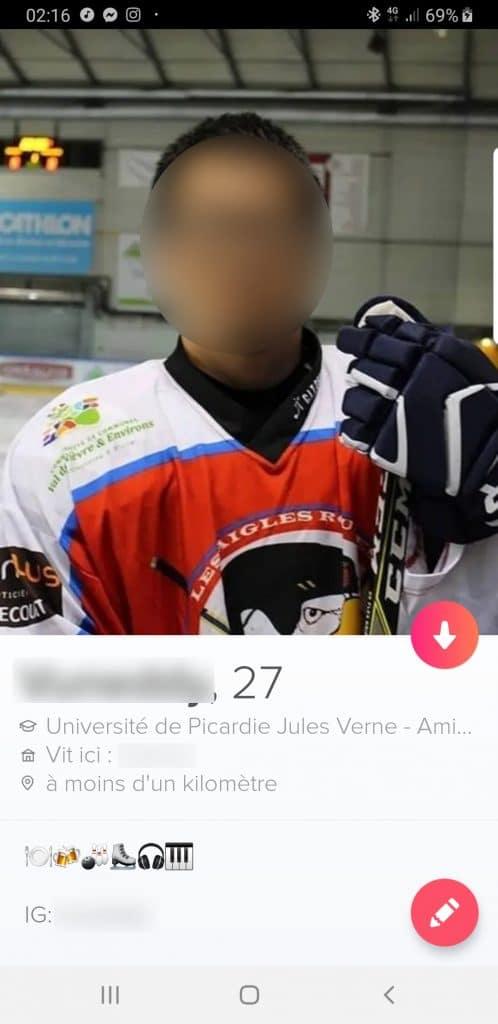 exemple de mauvais profil Tinder