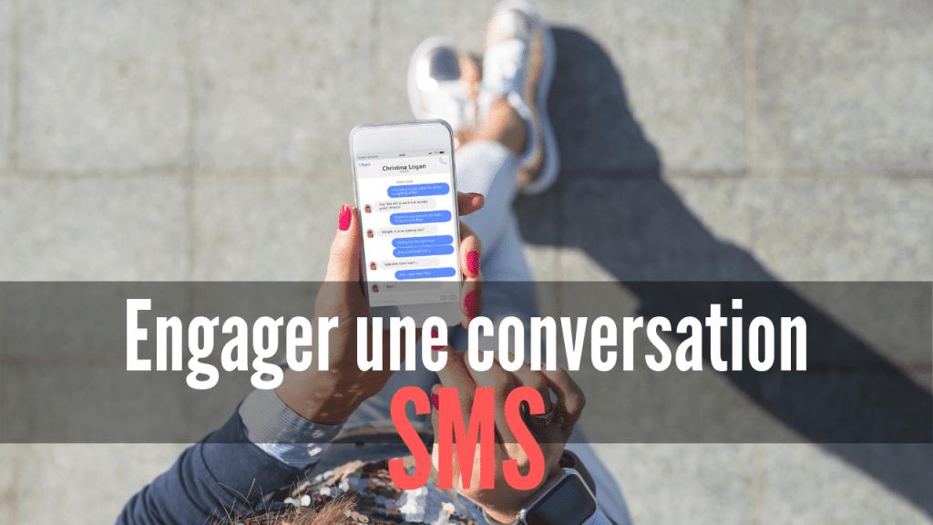 Engager une conversation par SMS - miniature
