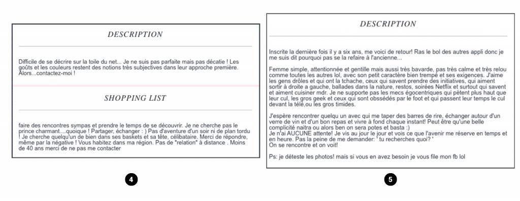 description adopteunmec femme exemple 2