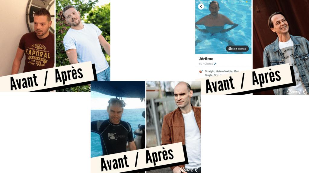 Photographe sites de rencontres avant/après
